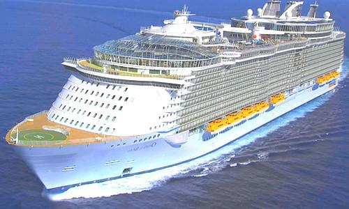 Оазис морей - самый большой пассажирский корабль