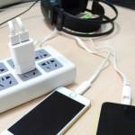 Розетка с 2 выходами для USB кабеля